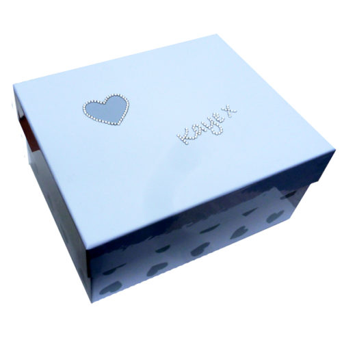 Unique gift idea personalised 'In Loving Memory' medium keepsake box
