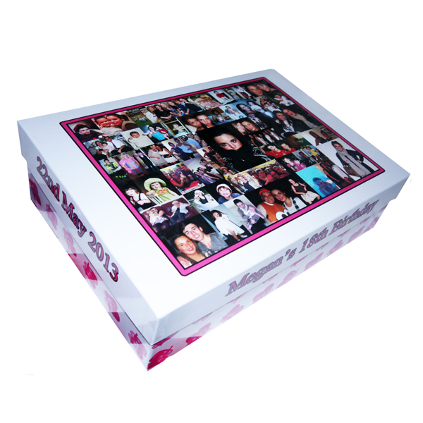 Unique Gift Ideas London Essex Personalised Large Memory Keepsake 18th Birthday Box