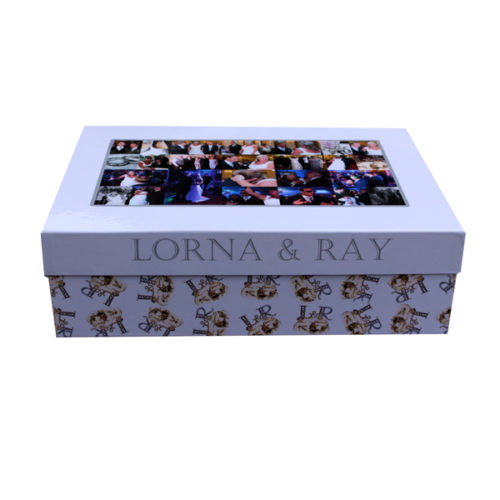Unique gift ideas London Essex personalised large memory keepsake wedding box