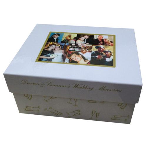 unique gift idea personalised medium wedding memory keepsake gift box