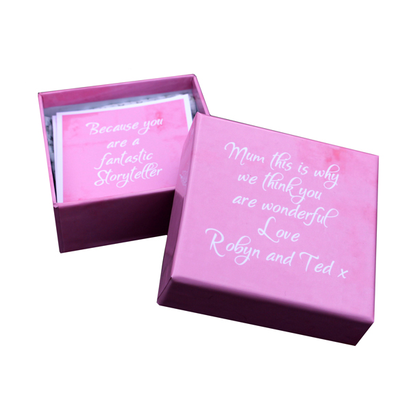 Unique gift ideas London Essex personalised small trinket box with inspirational Mothers day quotes