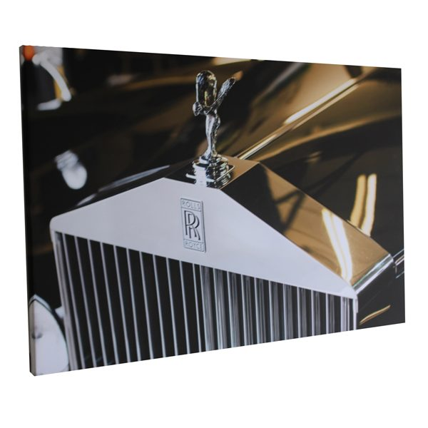 personalised business branded products for funeral directors London Essex single photo canvas print