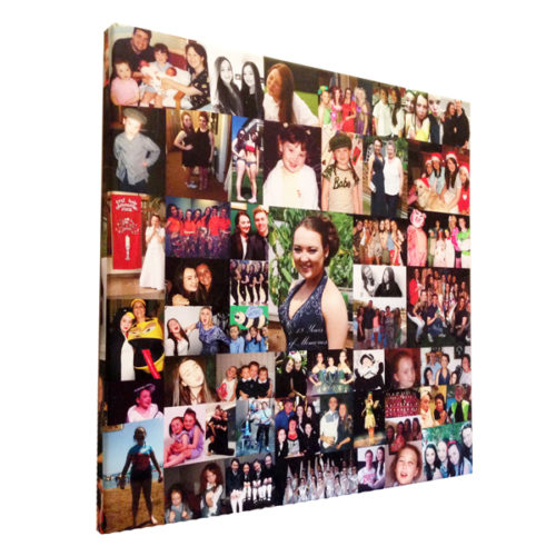 Unique gift ideas London Essex personalised montage for 18th birthday