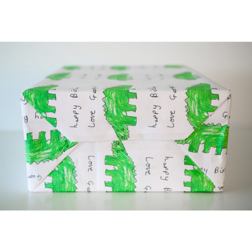 Unique gift ideas Essex London personalised wrapping paper