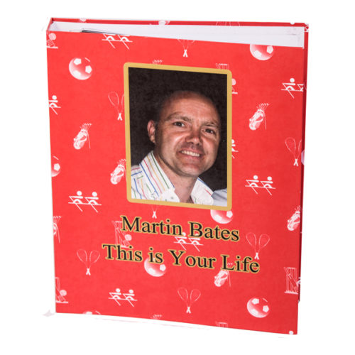 Unique gift ideas London Essex Personalised A4 'This is you Life' Folder