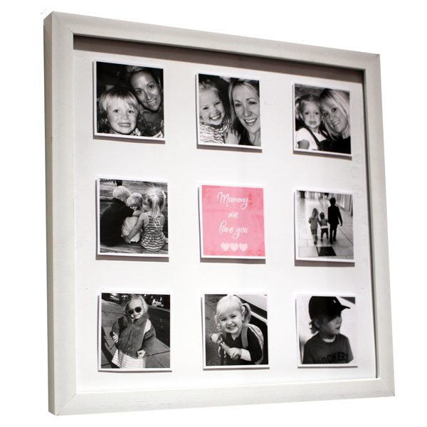 unique gift ideas London Essex, 3D effect photo frame for Mother's Day