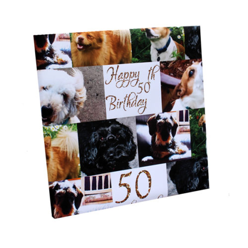 unique party essentials London Essex personalised dog walking friends birthday wrapping paper