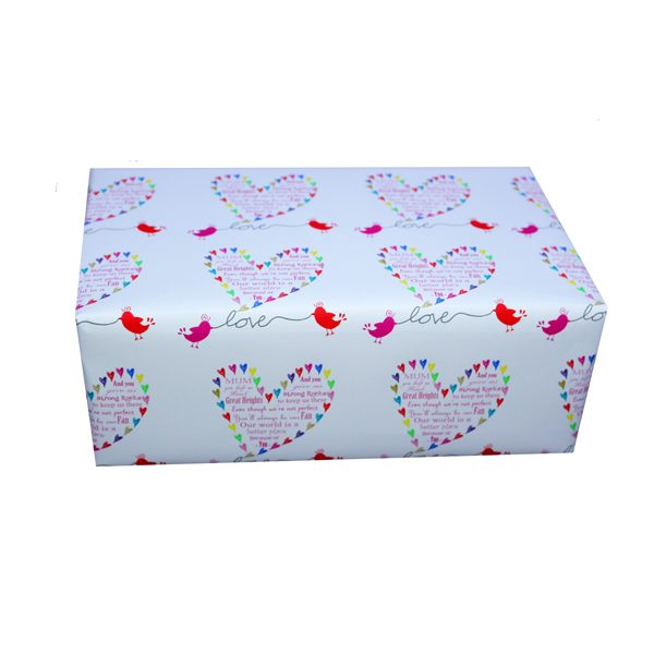 Unique gift ideas London Essex Mother's Day wrapping paper