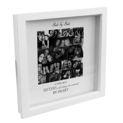 Unique gift ideas London Essex boxed framed montage with personalised message or quote