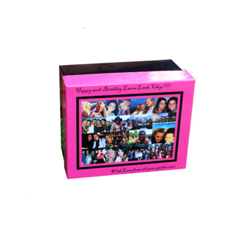 Unique gift idea London Essex personalised 30th birthday memory keepsake box