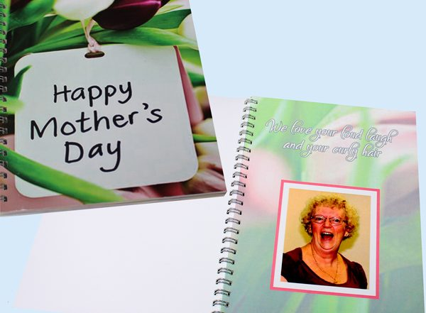 Unique gift idea personalised poetry book for mothers day gift