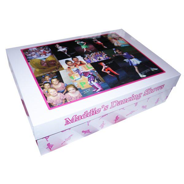 Unique gift idea London Essex personalised large keepsake memory box