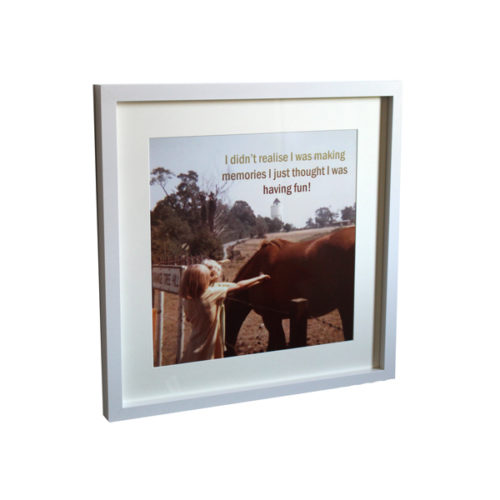 Personalised framed photo Essex