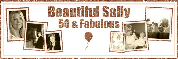 personalised large woman's 50th birthday banner
