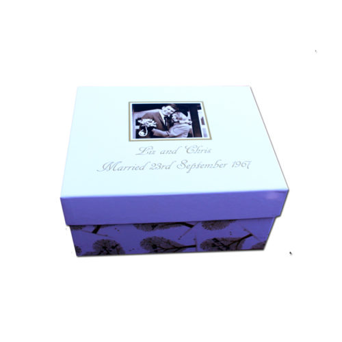 unique gift idea London Essex personalised anniversarykeepsake memory box