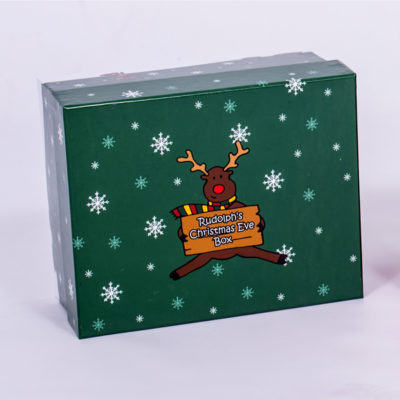 unique Christmas gift idea London Essex personalised Christmas Eve keepsake memory box