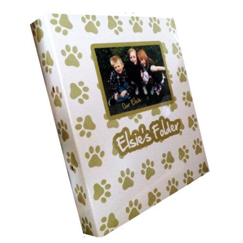 Personalised Dog Folder Essex