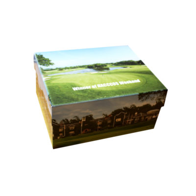 unique gift idea London Essex personalised winners trophy presentation keepsake medium memory box