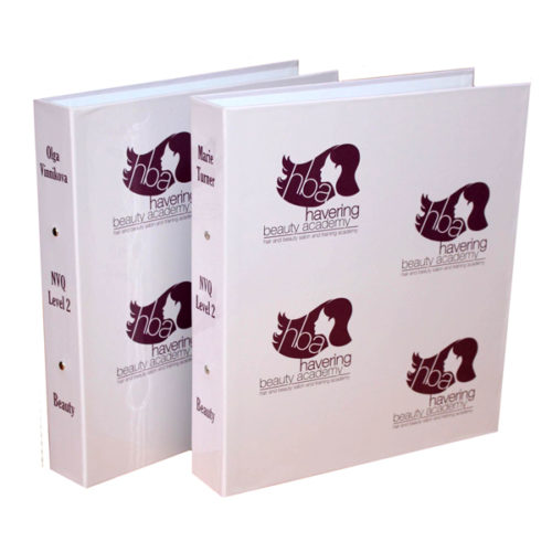 unique business branding products London Essex personalised business A4 folder