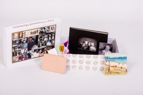 Unique gift idea personalised 'treasured memories' Large keepsake box
