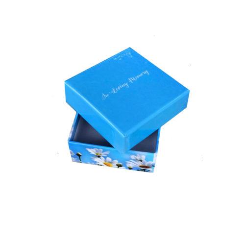 Unique gift idea personalised 'In Loving Memory' Trinket sized keepsake box
